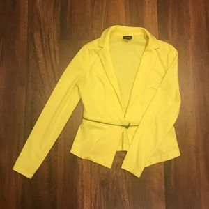 Mossimo yellow blazer